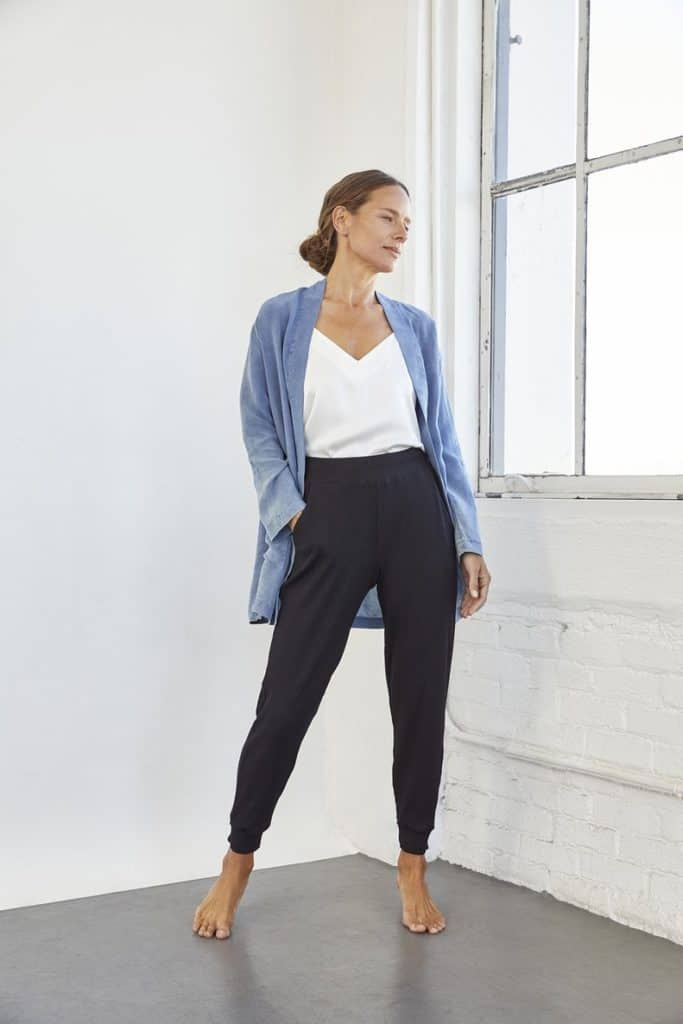 eco-friendly find: joggers from Amour Vert
