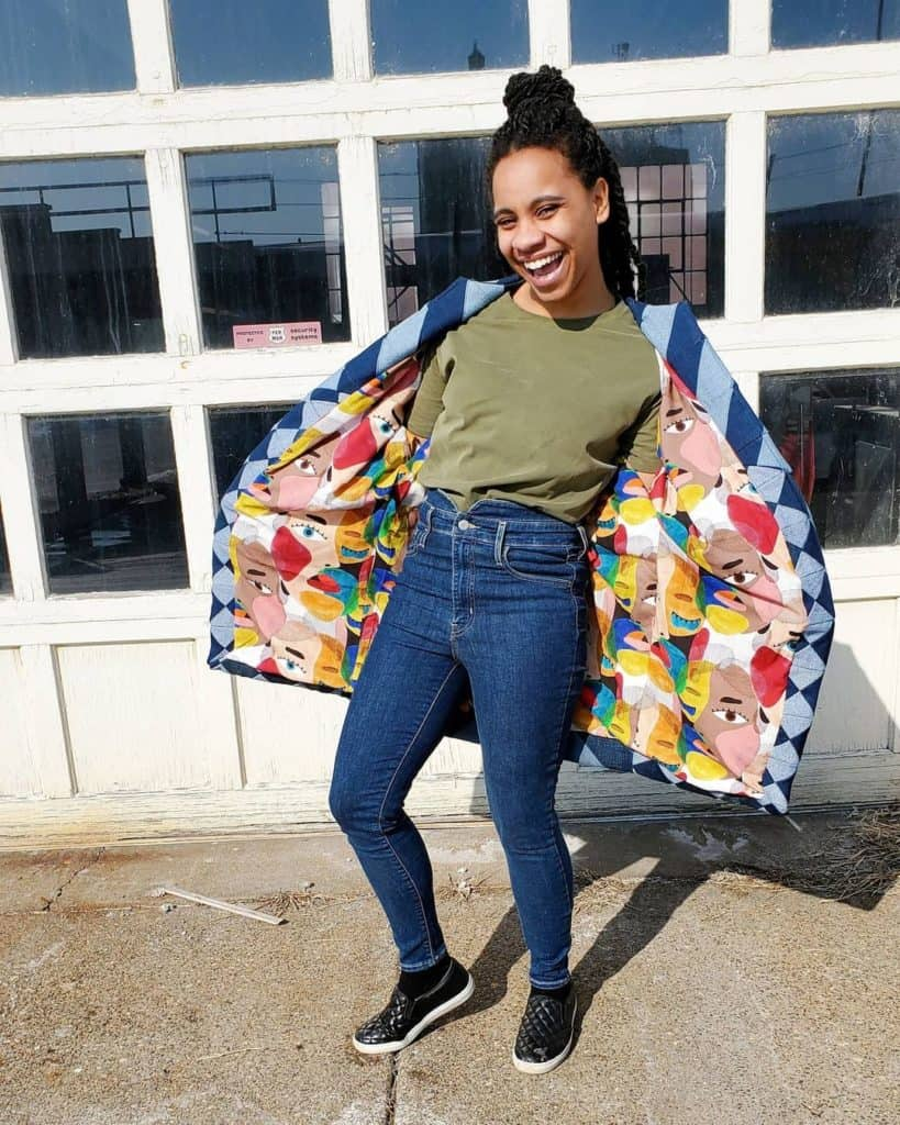how make quilted jacket