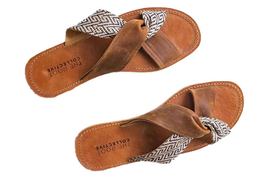 sustainable sandals