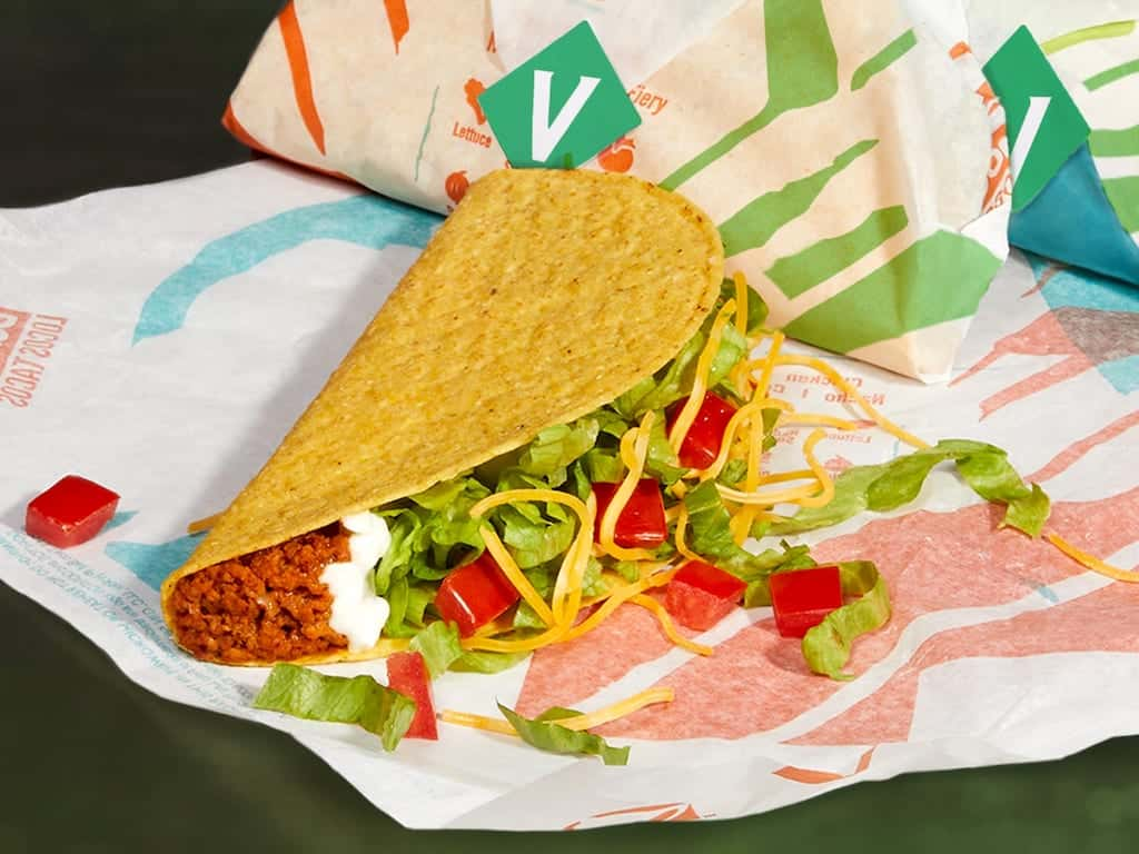 taco bell's meatless options