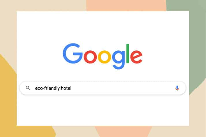 google eco-certified hotel feature