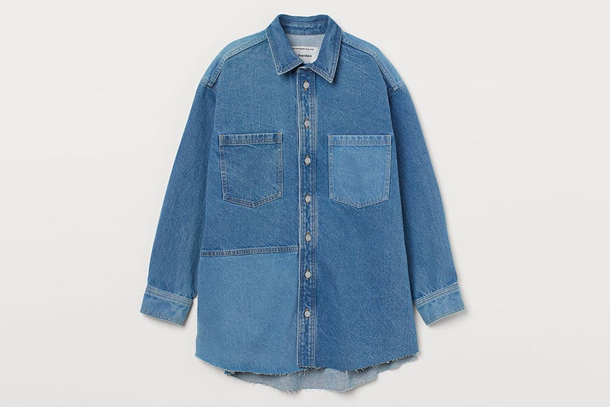 h&m recycled denim collection