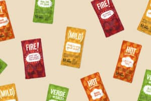 how to recycle taco bell hot sauce packets