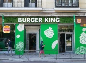 burger king launches vegetarian location